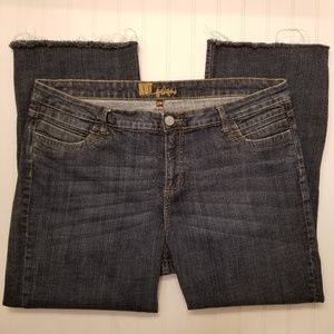 Kut from the Kloth Ankle Raw Edge Jeans Size 22